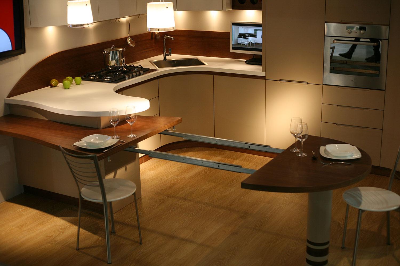 Cucina con penisola a doppia altezza perch utile - Cos e l abbattitore in cucina ...