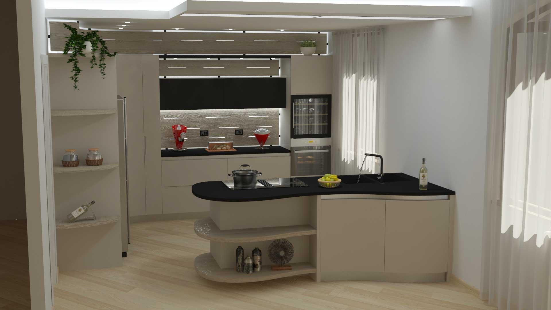 Cucine Ad Angolo Con Isola. Eccezionale Idee Di Lavello Cucina Ad ...