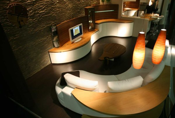 soggiorno salotto moderno Bergamo Midarte