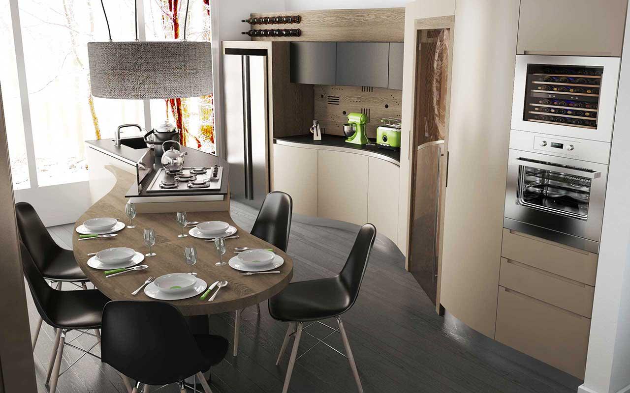 Storia di una cucina midarte dal progetto alla tua casa for Layout di una casa di una storia