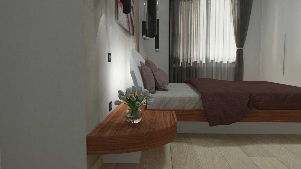 Camera moderna di lusso