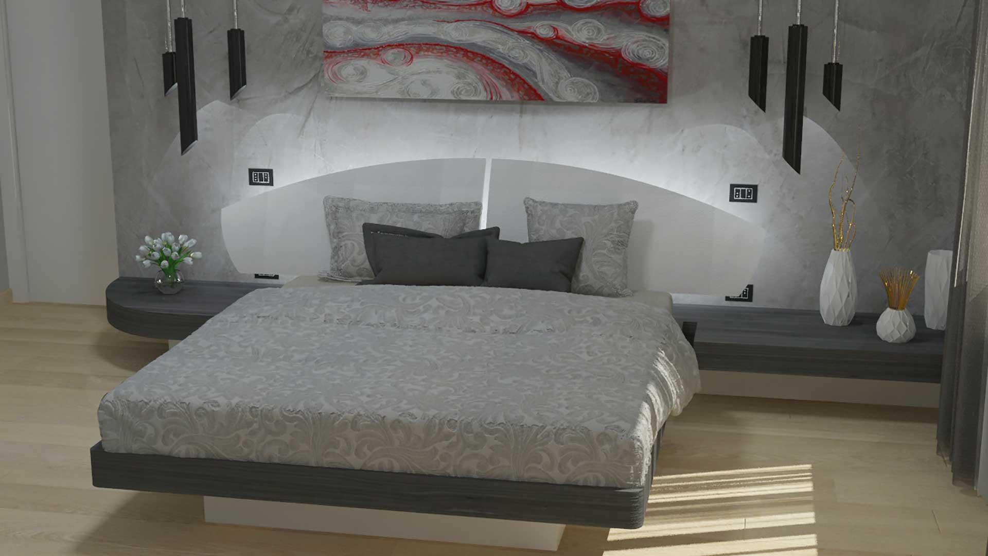 Camera Da Letto Grigia come trasformare la camera da letto in una camera di lusso