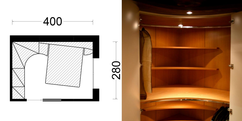 Progetto camera piccola angolare midarte - Progetto camera ...