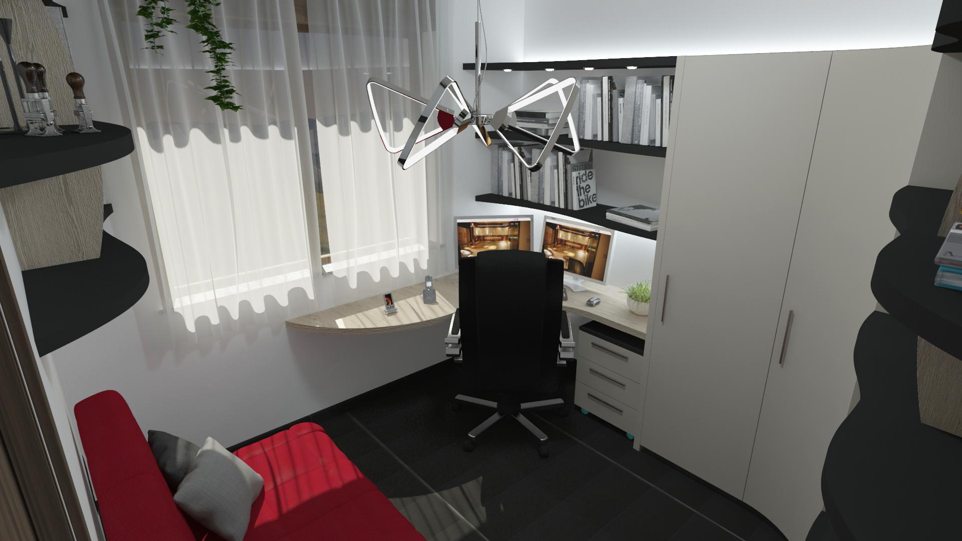 studio stanza ospiti progetto2 midarte