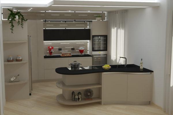 3 progetti di cucine con bancone stessi modelli risultati unici - Cucina con bancone ...