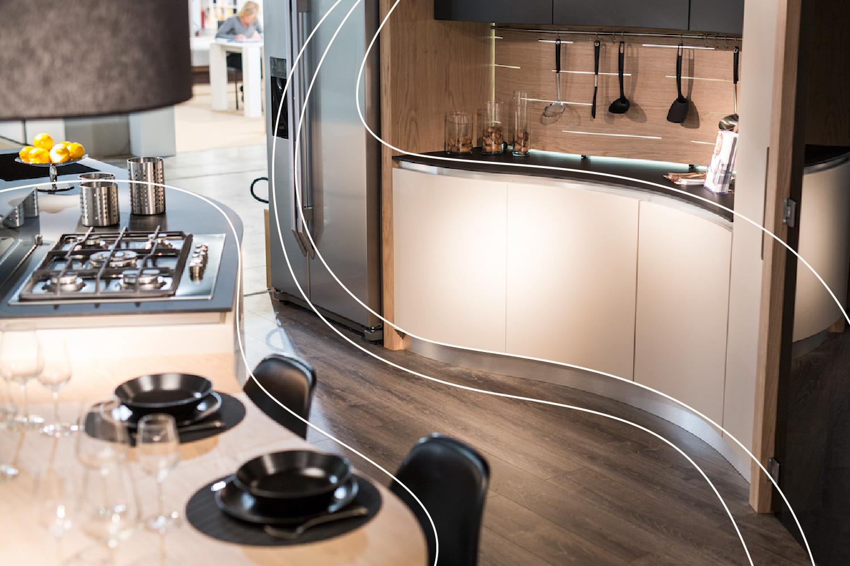 MIDARTE-Cucina-Snake_ ergonomia e design italiano
