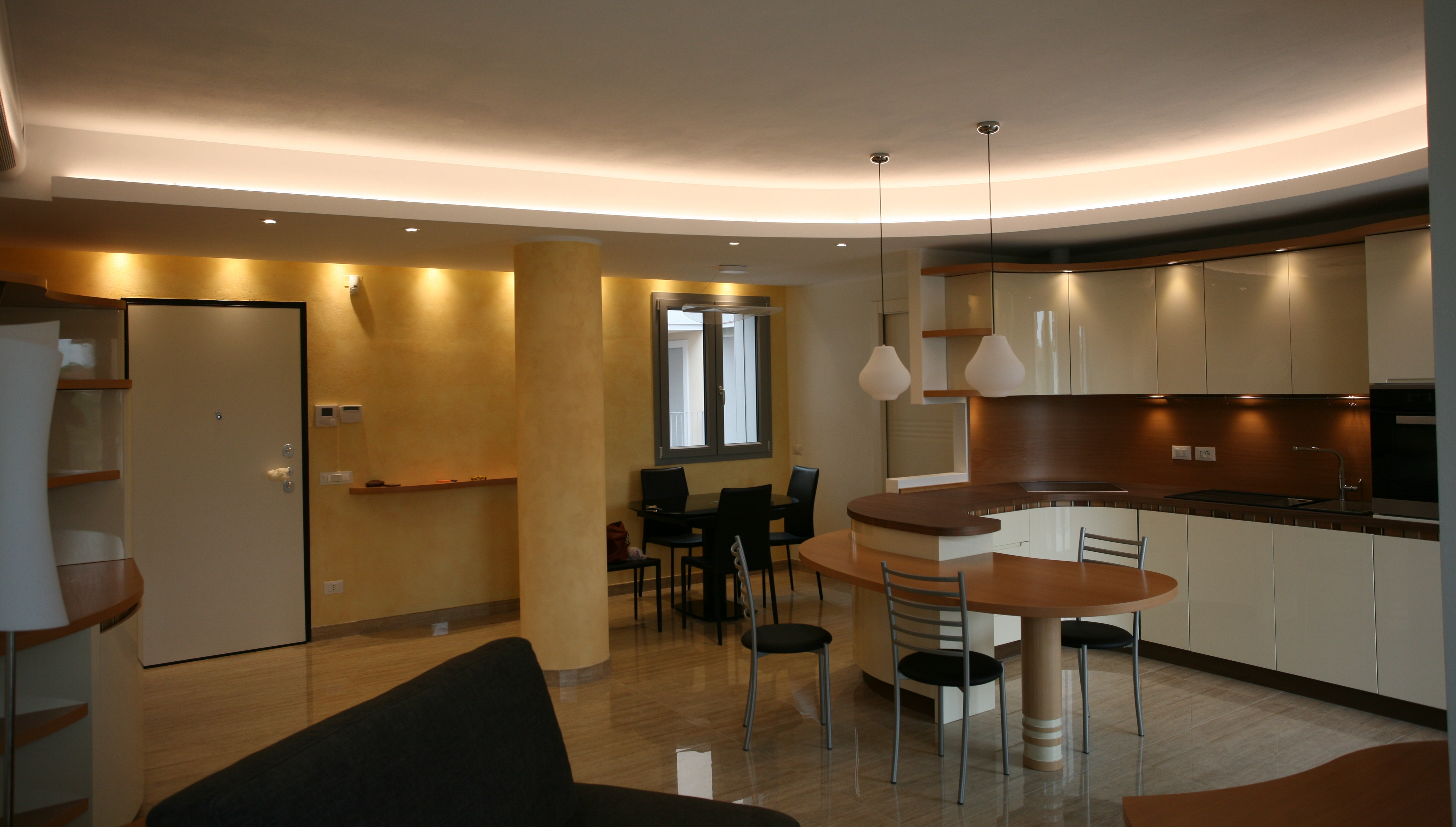 Prima e dopo: il progetto di una cucina open space a Milano