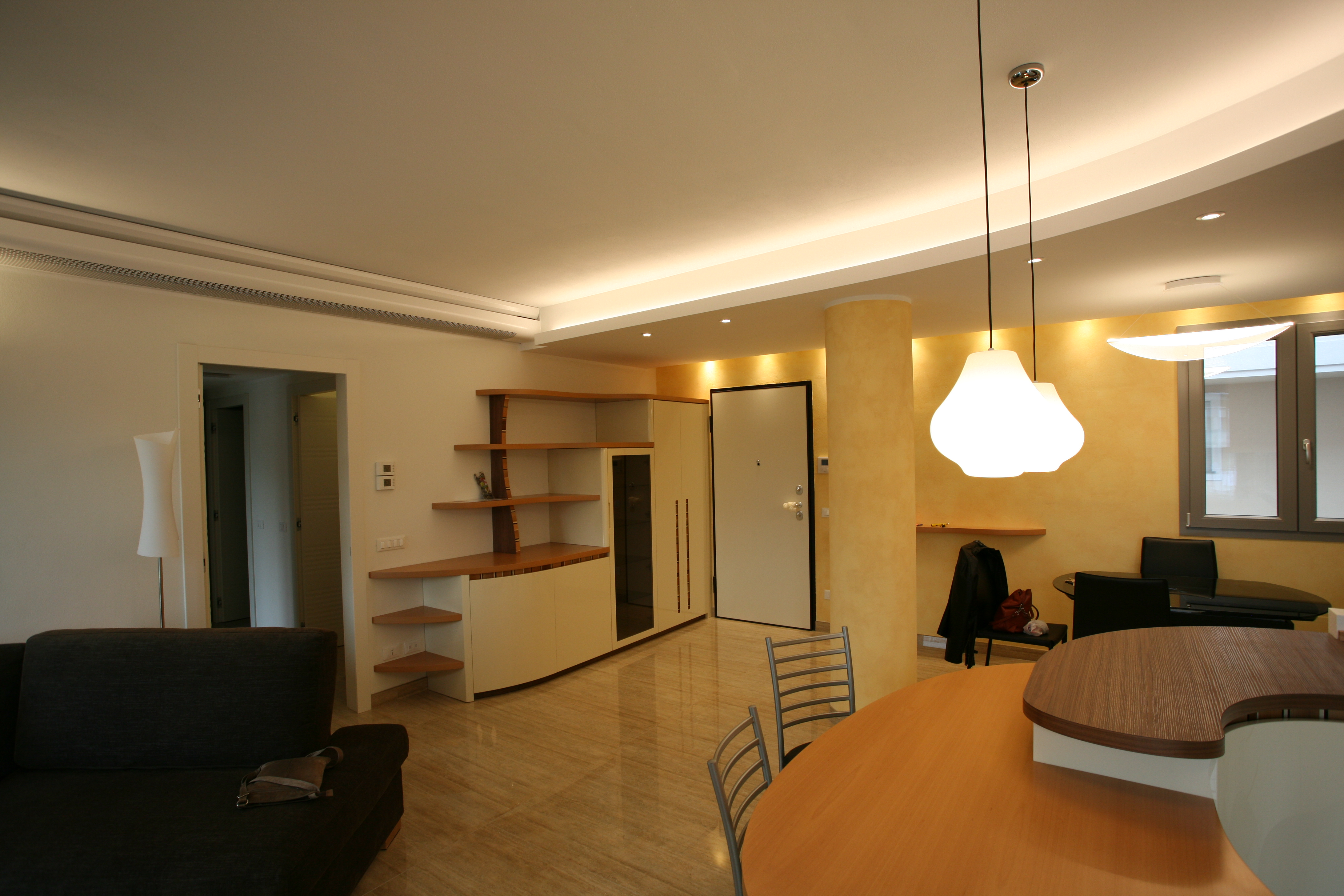 Ingresso-soggiorno-progetto-Milano - Midarte